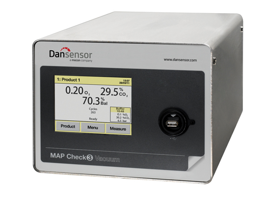 MAP Check 3 Vacuum, O2(Zr) + CO2, Buffer